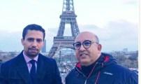 المرصد الدولي للاعلام وحقوق الانسان بباريس  يتعزز بالاطار أنس شاكر