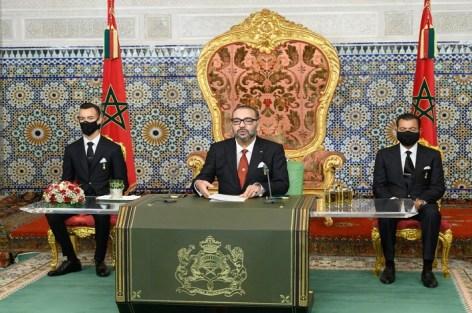 خطاب صاحب الجلالة الملك محمد السادس نصره الله بمناسبة الذكرى 45 للمسيرة الخضراء
