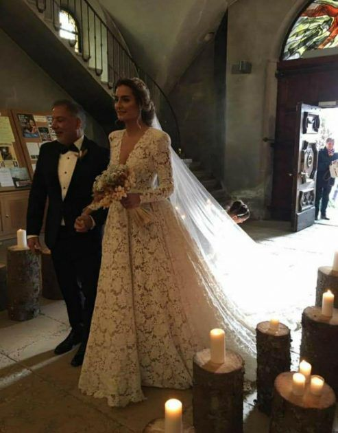 العروس دخلت الكنيسة لتقود نعم