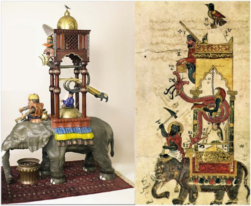 elephant clock comparison