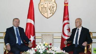 الرئاسة التركية: أردوغان أبلغ قيس سعيد بأهمية استمرار عمل البرلمان لتونس وللمنطقة