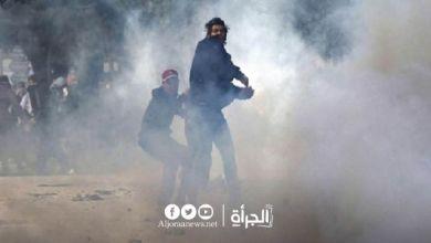 مواجهات سيدي حسين.. طعن عون أمن بسكين