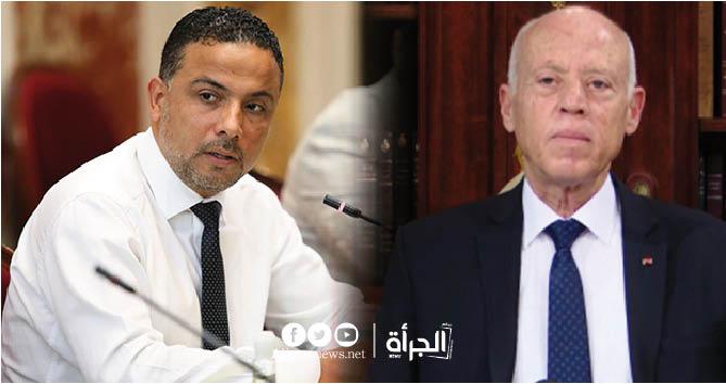 سيف الدين مخلوف لقيس سعيد : تعيا وإنت تعسكر