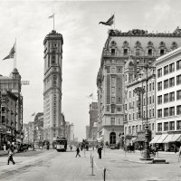 Old New York Times Building, 1908
