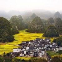 The Small Village of Xingyi, China