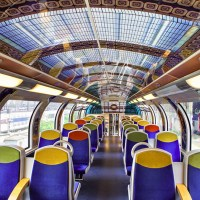 France's Public Trains Bring Impressionist Art to Commuters
