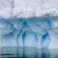 Photographs of Antarctica's Blue Ice at Eye Level