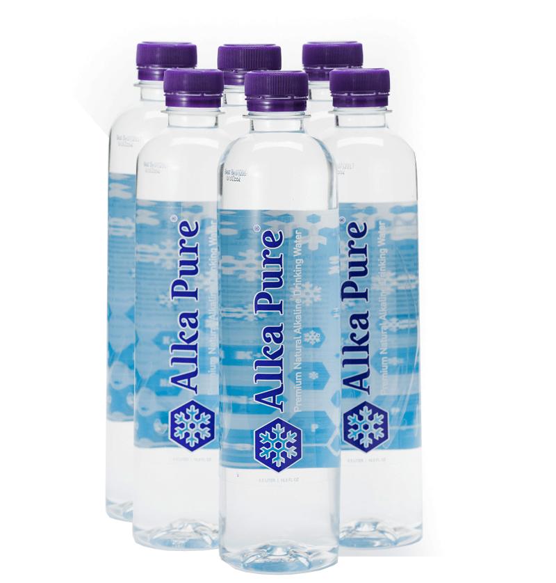 Bottled Alkaline Water - Bottle Designs