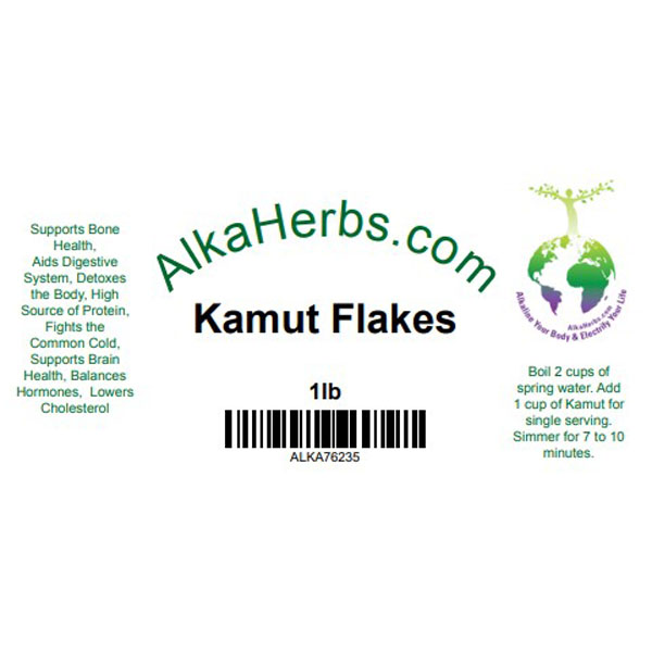 Kamut Flakes Rolled