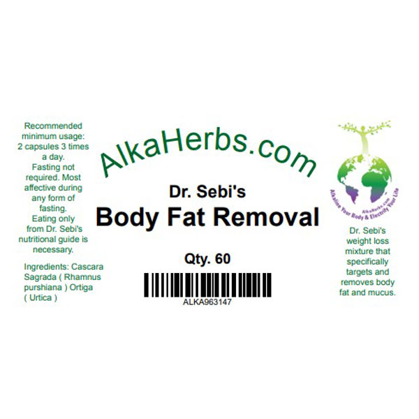 Body Fat Removal AlkaHerbs