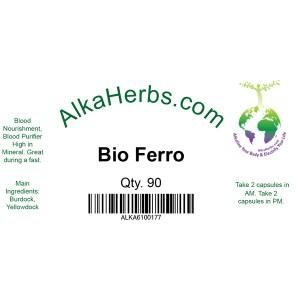 AlkaHerbs Bio Ferro