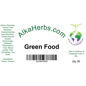 AlkaHerbs Green Food