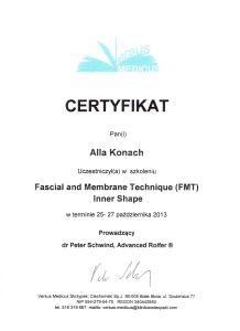 Certyfikat ALLA16