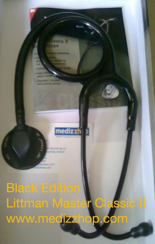 Stethoscope Littmann Alat Kesehatan Medis Kedokteran Alkes Medical Equipment