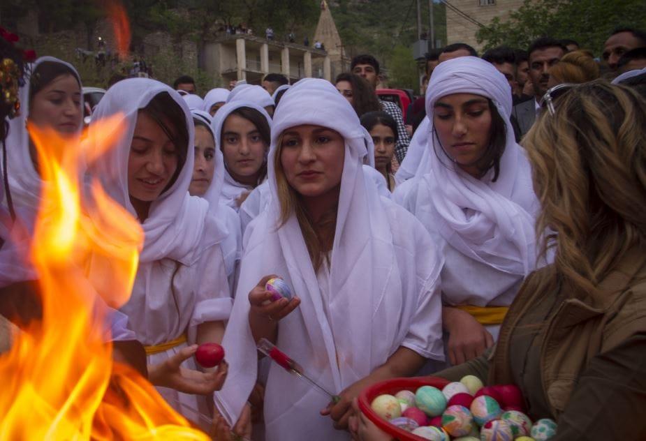 الأربعاء 18 نيسان عيد رأس السنة الإيزيدية تلفزيون الخبر اخبار سوريا