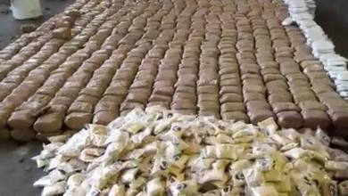 Photo of مصادرة 1750 كغ من الحشيش على طريق طرطوس – اللاذقية