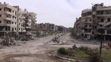Photo of حرستا تنفض آثار حرب .. البدء بإزالة الأنقاض والردميات