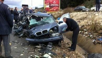 Photo of مقتل طفلة سورية وإصابة ثلاثة آخرين بحوادث سير في لبنان