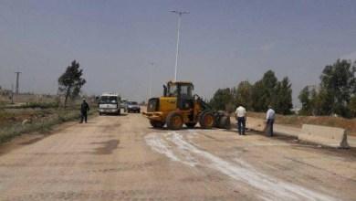 Photo of المباشرة بالمرحلة الثانية من مشروع صيانة طريق حمص – الفرقلس