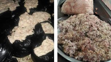 Photo of ضبط كميات كبيرة من جلد الفروج في حماة تستخدم في تصنيع الكباب
