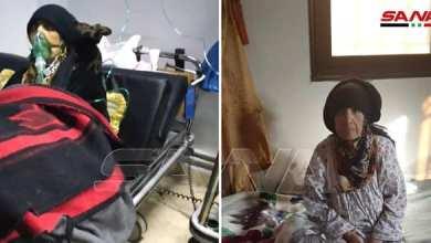 """Photo of شفاء مسنة ثمانينية من فيروس """"كورونا"""" في درعا"""