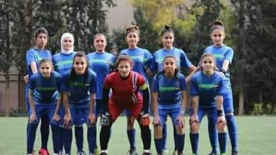 Photo of سيدات الخابور تتوجن بطلات للدوري السوري للسيدات