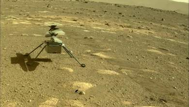 "Photo of للمرة الأولى في التاريخ.. مروحية ""ناسا"" تحلق فوق المريخ"