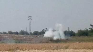 """Photo of إصابة عمال سوريين في لبنان جرّاء إطلاق العدو """"الإسرائيلي"""" قنابل سامّة"""