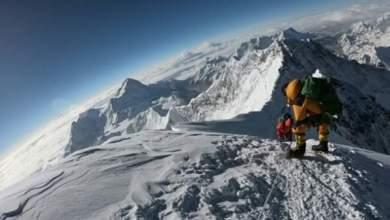 """Photo of ضرير صيني يتسلق قمة """"إيفرست"""""""
