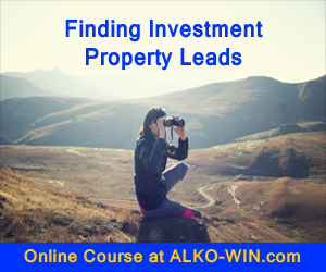 Millionaire Mindset of Finding Investment Property Leads