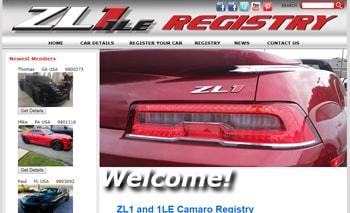 ZL1 Camaro Registry Case Study