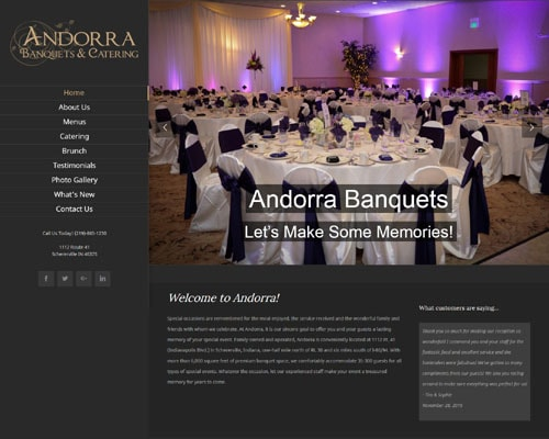 Andorra Banquets and Catering