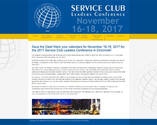 Service Club Leaders Conference