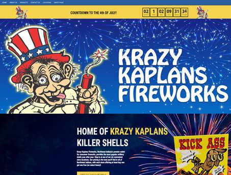 Krazy Kaplans Fireworks