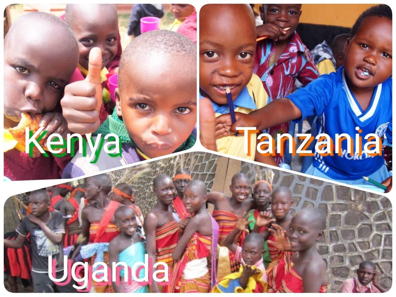 ケニア、ウガンダ、タンザニア。アフリカ人気3か国の違いと共通点。