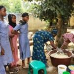 赤道直下ギニア「おにぎり作り」で学びを届ける日本人女性