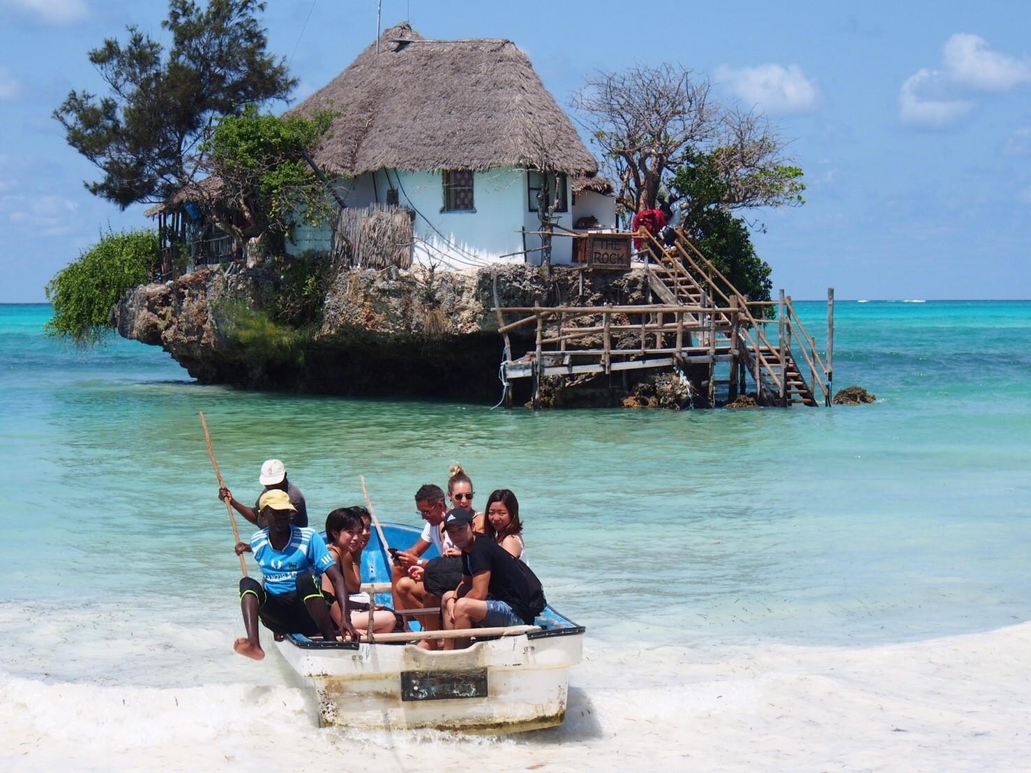 天国のような海の上の絶景レストラン🌊🍹ザンジバル(タンザニア)
