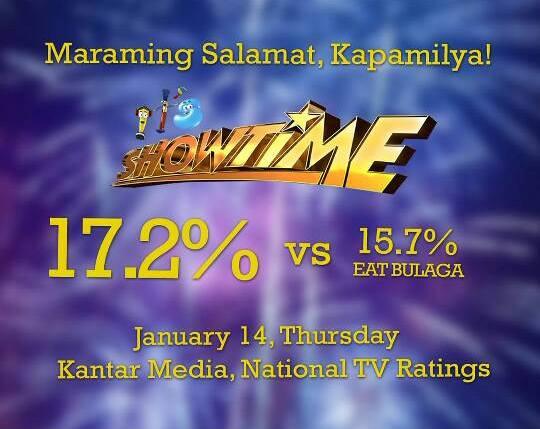 it's showtime vs eat bulaga