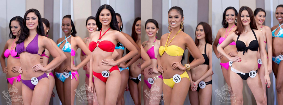 Joanna Louise Eden, Anjellica Lopez, Kristine Angeli Estoque and Janelle Olafson. Photos from Bb. Pilipinas