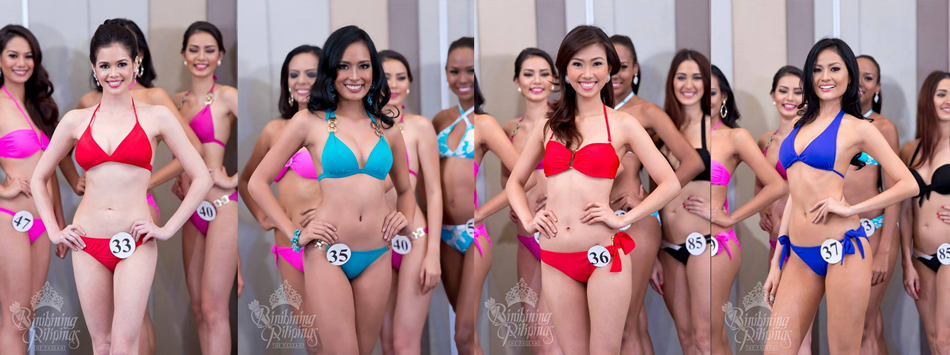 Tatiana Maher, Jennyline carla Malpaya, Crescent Anne Samaco and Nichole Manalo. Photos from Bb. Pilipinas