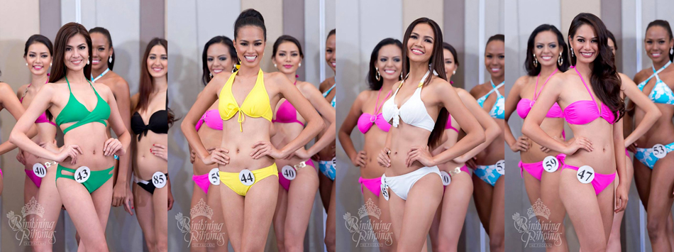 Edjelyn Joy Gamboa, Sheena Seinne Dalo, Vina Openiano and Kimberle Mae Penchon. Photos from Bb. Pilipinas