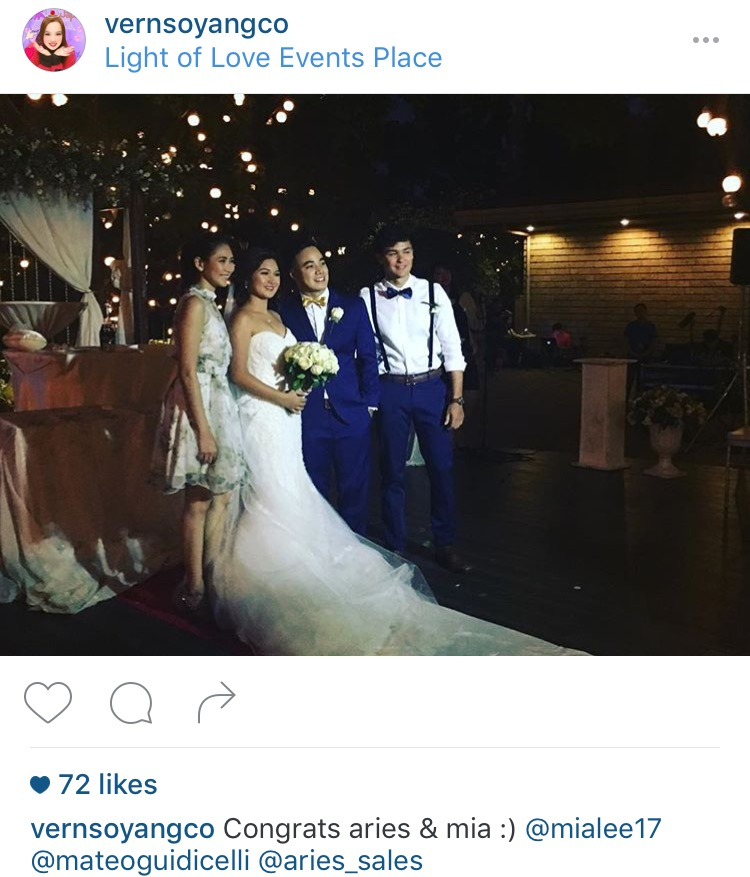 Sarah Geronimo and Matteo Guidicelli Together in Wedding