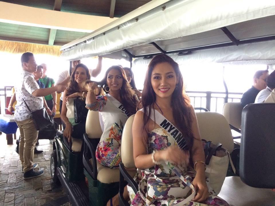 miss universe 2016 in Boracay5