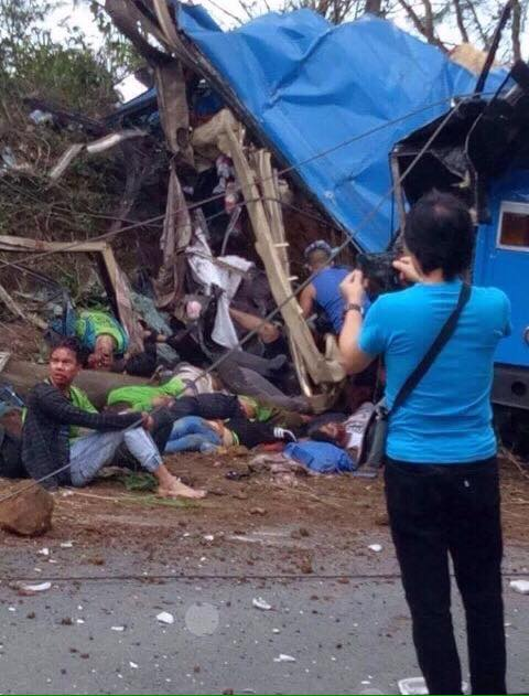 Tanay, Rizal bus accident