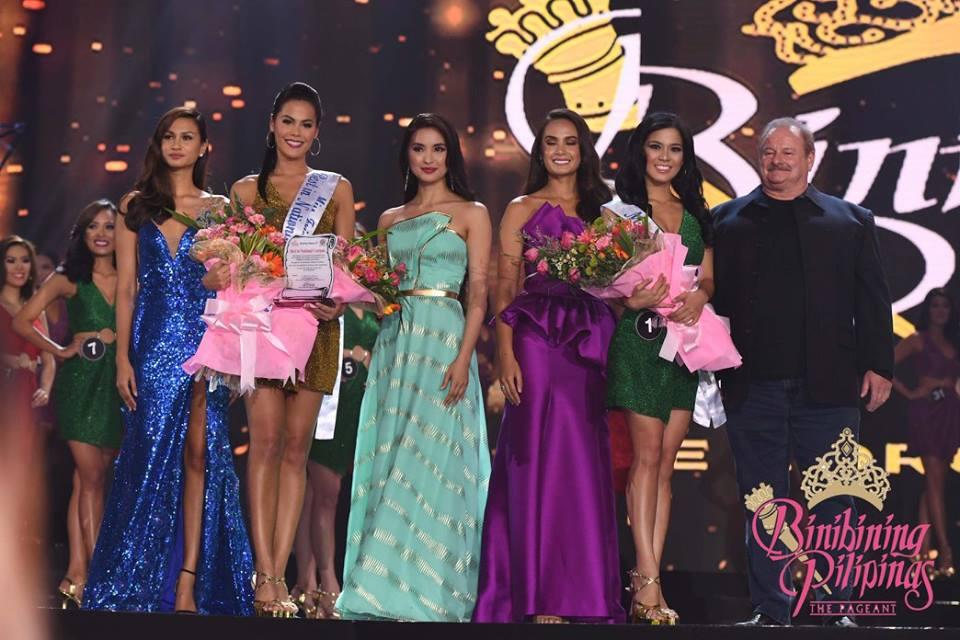 binibining pilipinas 2016 special awards