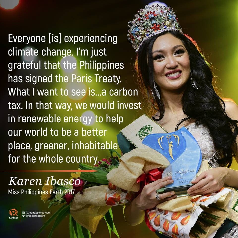 miss earth philippines 2017 final answer