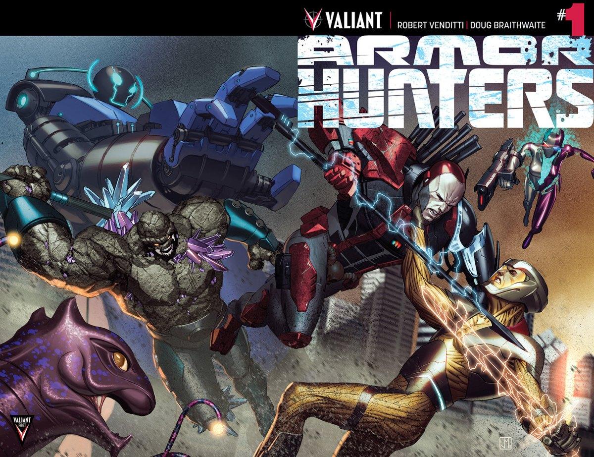 Valiant Armor Hunters #1