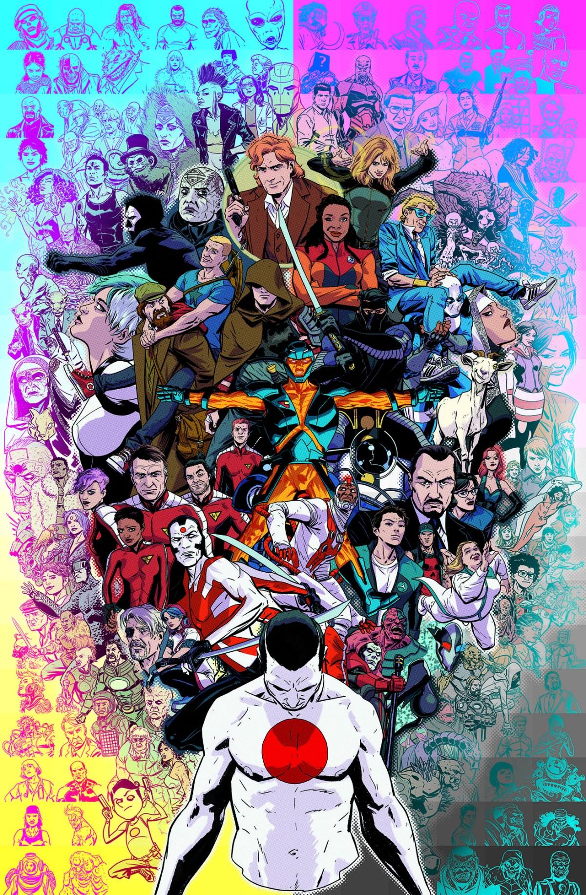 VALIANT UNIVERSE_poster_print