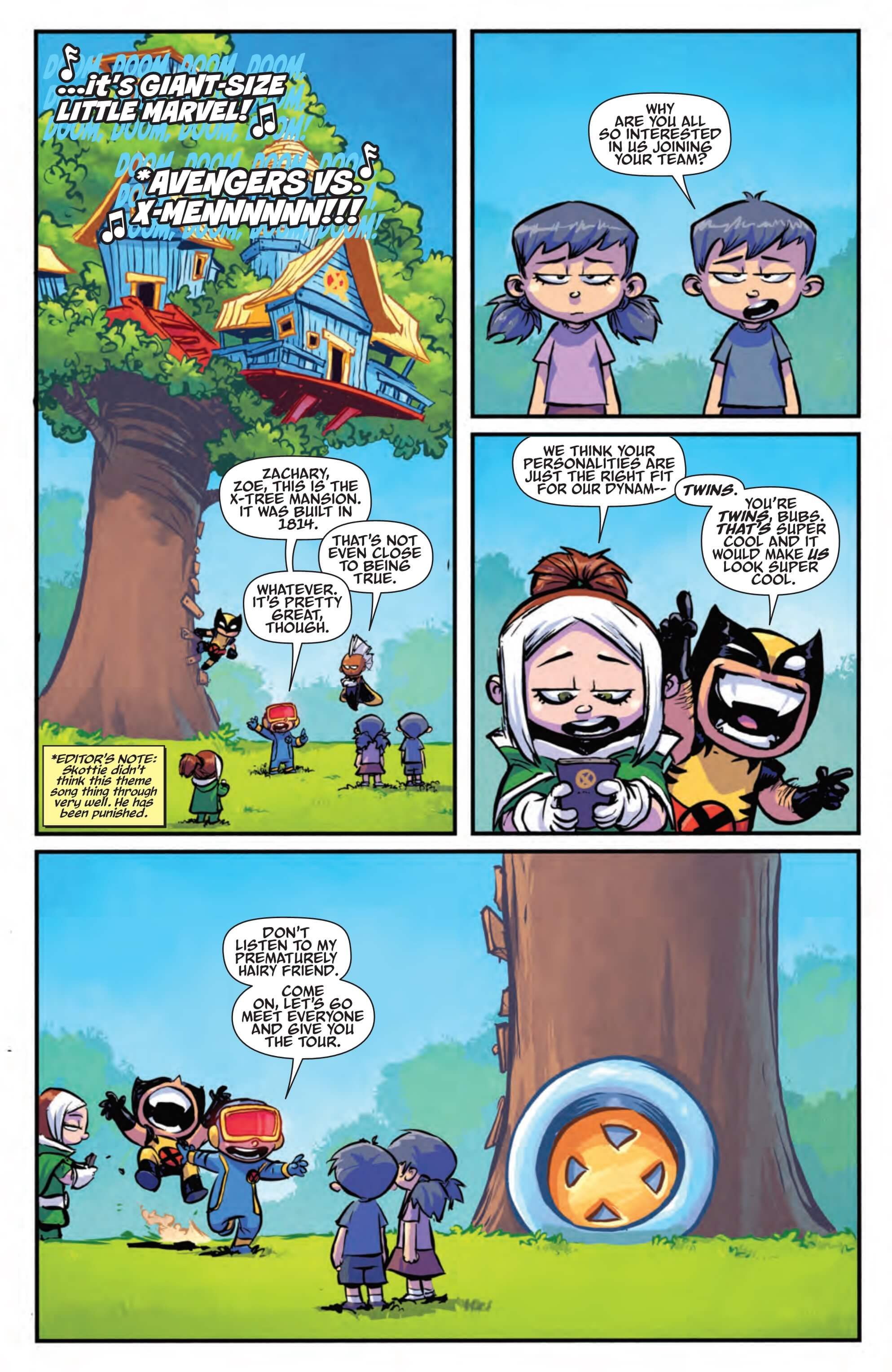 Preview Giant Size Little Marvel Avx 3 All Comic Com