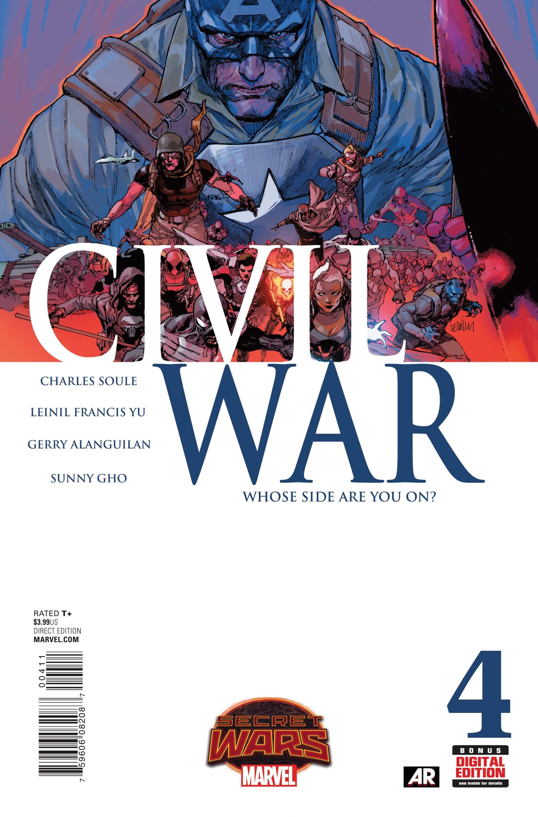 Civil War #4cvr